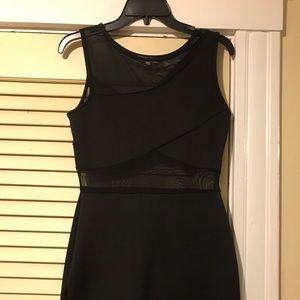 Charlotte Russe black bandage dress